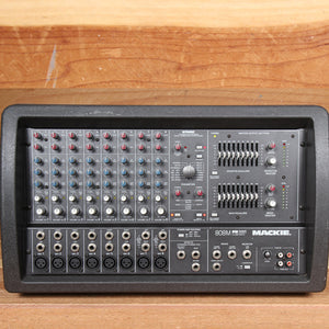 MACKIE 808M 1200W Powered PA Mixer Board -- Very Clean! 808 M 52799