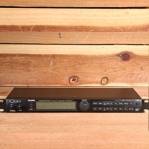 ALESIS Q20 Vintage Multi-Effect Rack Unit Reverb Delay Chorus Digital i/o 22354