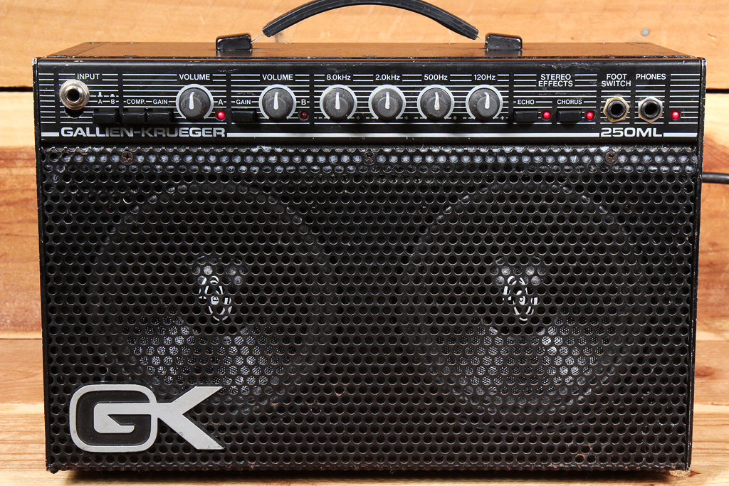 GALLIEN-KRUEGER Vintage Lunchbox Combo Amplifier 250ML GK ML250 Small Amp 28880