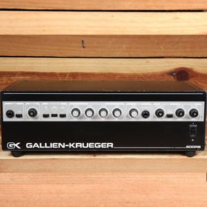 GALLIEN-KRUEGER GK 800RB BASS AMP HEAD INDUSTRY STANDARD 800 RB AMPLIFIER