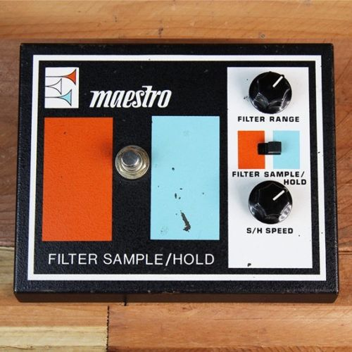 MAESTRO FSH-1 FILTER SAMPLE / HOLD Rare 70s Vintage Guitar Pedal Great Condition 1262