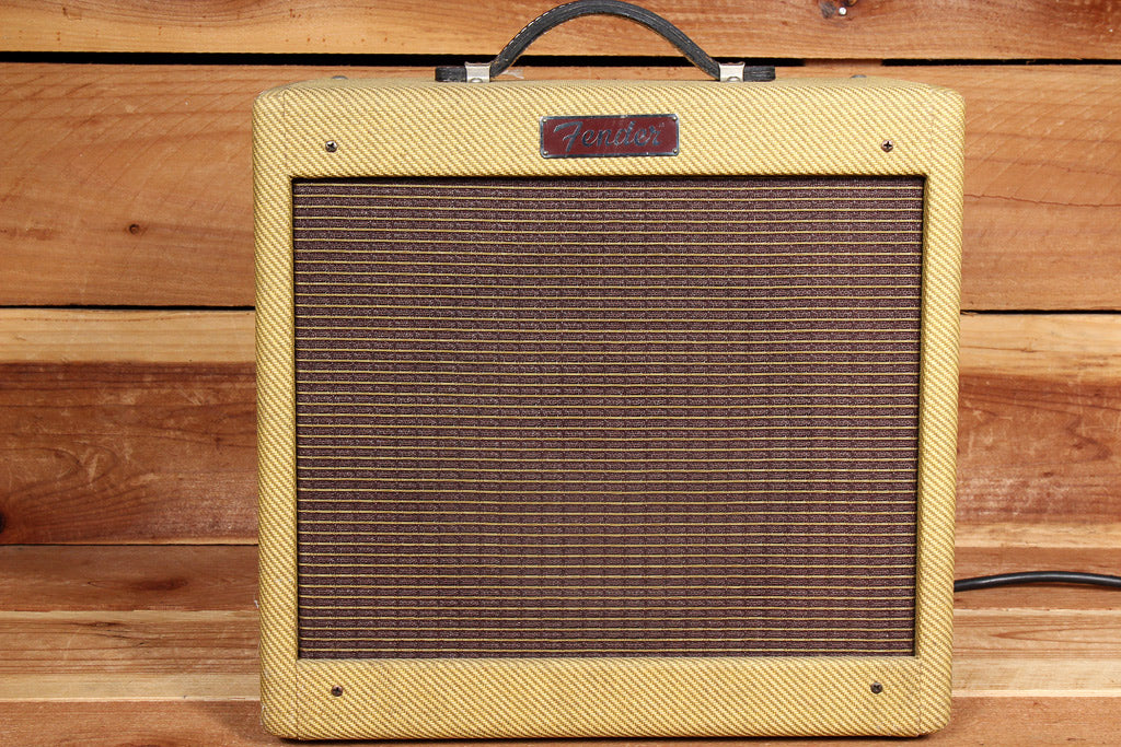 FENDER PRO JR --MADE IN USA-- EARLY TWEED MODEL NICE TONE! Tube Junior Amp 51824