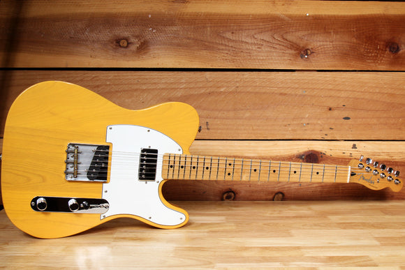 FENDER FAT TELECASTER FSR BUTTERSCOTCH Blonde 2015 Tele Gibson Bridge PU 78368