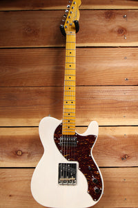 Fender Modern Player SHORT SCALE TELECASTER + HSC Rare White Blonde Tele 29393