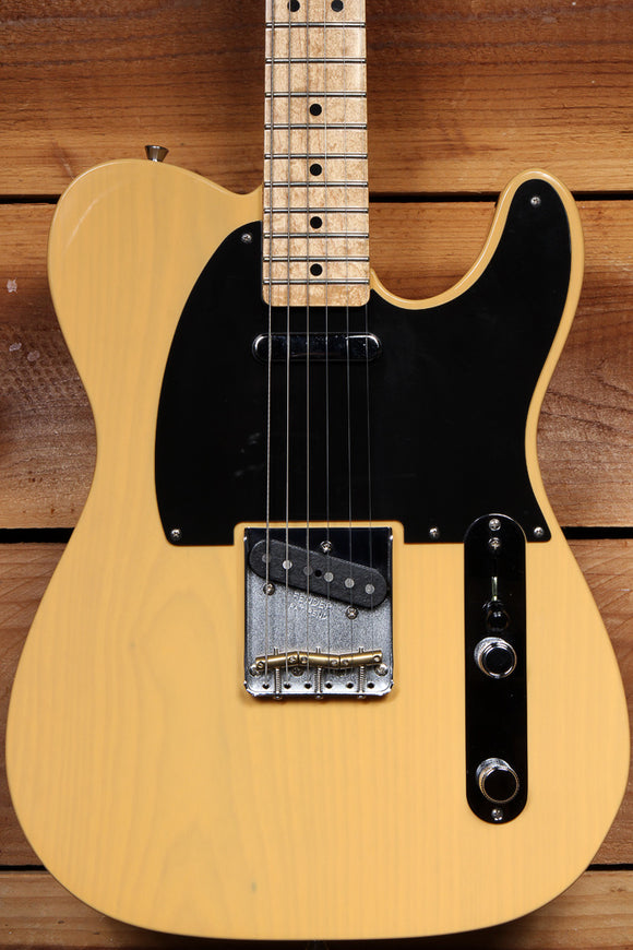 FENDER CLASSIC PLAYER BAJA TELECASTER 2016 Tele Blonde Mint + Bag! 24066