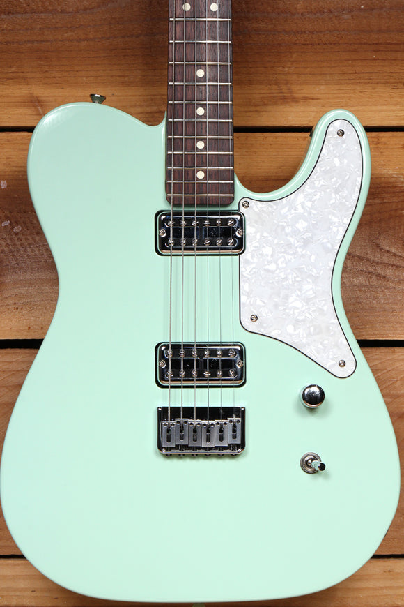 FENDER CABRONITA TELECASTER Surf Green Locking Tuners Rosewood Board Tele 57600