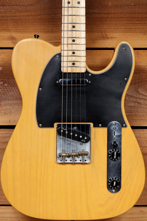 FENDER Deluxe Ash FSR TELECASTER Noiseless PU BUTTERSCOTCH BLONDE Tele 72835