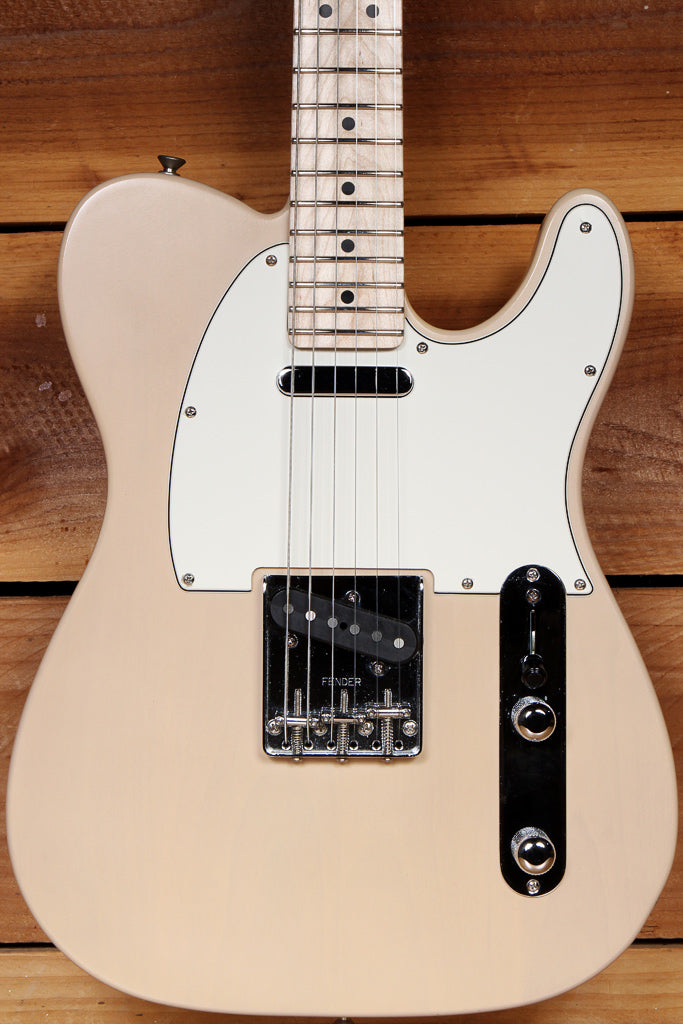 FENDER HIGHWAY ONE 1 TELECASTER Xtra Clean Blonde! Nitro American TELE MIA 74012