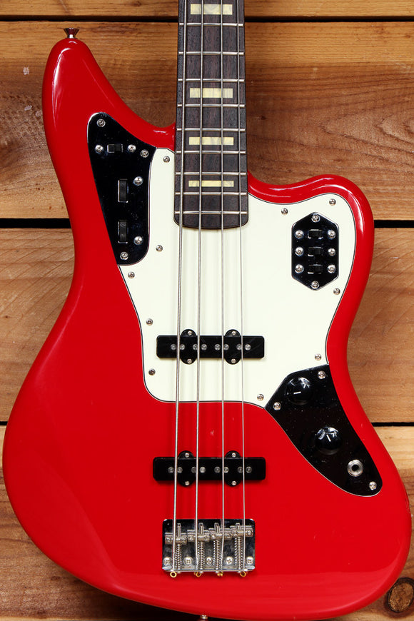 FENDER JAGUAR BASS Hot Rod Red Made in Japan MIJ 08394