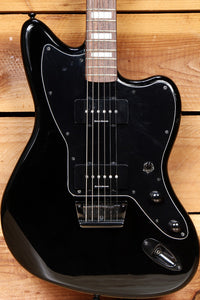 FENDER SQUIER JAZZMASTER Vintage Modified BARITONE Guitar Black Finish 46544