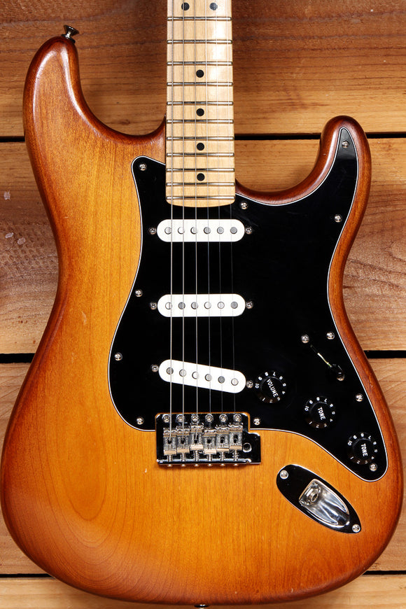 FENDER HAND STAINED USA STRATOCASTER 2013 American Strat Nice Cond 20661