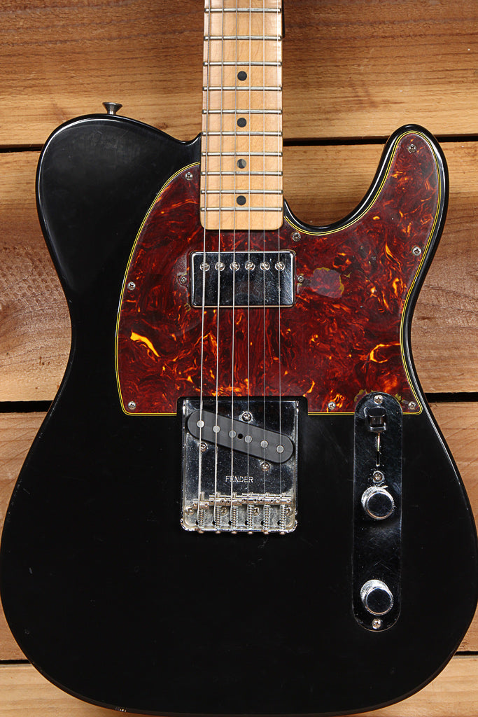 FENDER 1997 CALIFORNIA SERIES TELECASTER Clean Black USA Fat Tele! Killer! 25182