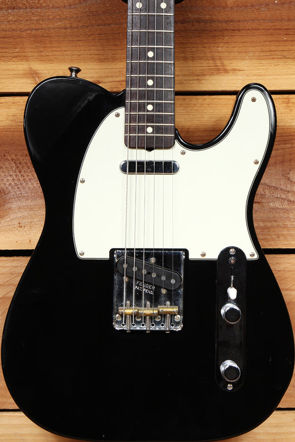 FENDER 2001 60s Classic Series TELECASTER Rosewood Board Thick Neck Black 57238