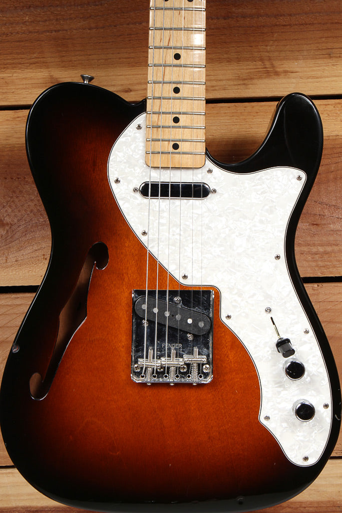FENDER 69 TELECASTER THINLINE Semi-Hollow F-Hole 6-Pound Tele! 40442