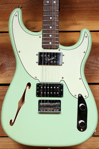 FENDER 72 Surf Green PAWN SHOP Stratocaster Telecaster f-Hole Japan MIJ 11056