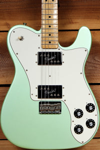 FENDER 72 TELECASTER Deluxe FSR Seafoam GREEN PEARL Classic Series Tele 68024