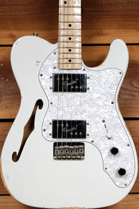 FENDER FSR 72 TELECASTER DELUXE THINLINE White Relic Road Worn Tele 70450