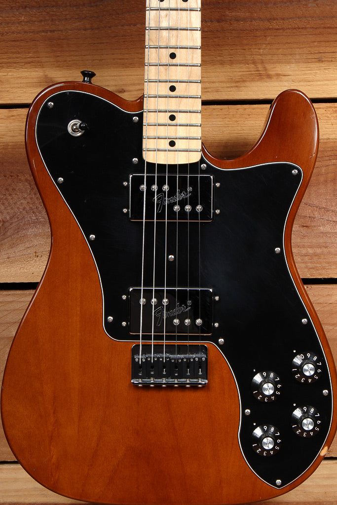 FENDER CLASSIC SERIES 72 TELECASTER DELUXE Walnut Tele Upgrades! Mocha 70s 41022