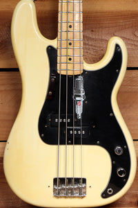 FENDER 1977 USA PRECISION BASS Killer P-Bass Vintage White Relic! 54055