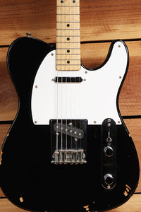 FENDER 1993-94 TELECASTER MIJ Toploader Black Tele Relic Made in Japan 3089