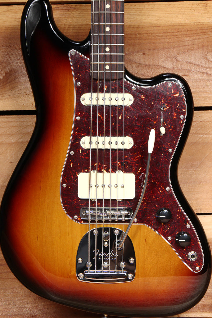 FENDER BASS VI Pawn Shop Sunburst Clean! Baritone Guitar + Bag & Papers 33879