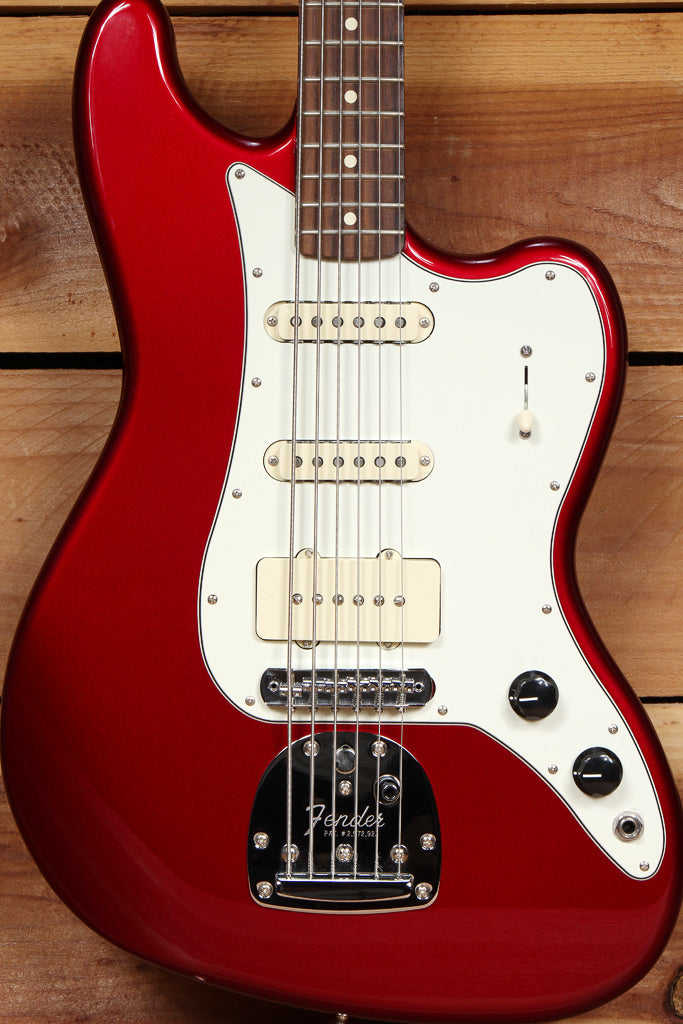 FENDER 2014 BASS VI Pawn Shop Red Nice! Baritone Guitar 68657
