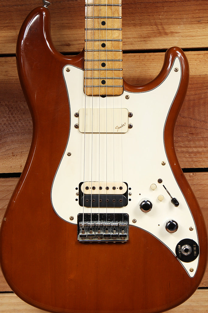 FENDER BULLET H-2 Vintage 1981 USA E Serial American Walnut Guitar 09700