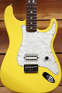 FENDER TOM DELONGE STRATOCASTER Graffiti Yellow 2002 Nice! HARDTAIL STRAT 90331