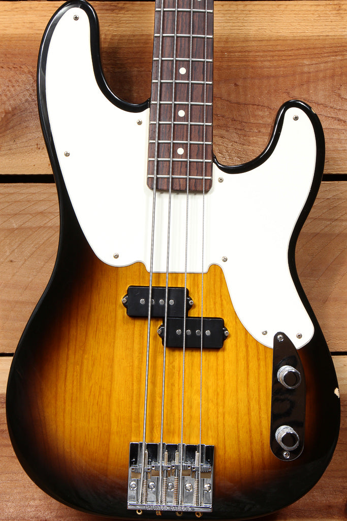 FENDER 2008 MIKE DIRNT PRECISION BASS Sunburst P-BASS BadAss Bridge 45442