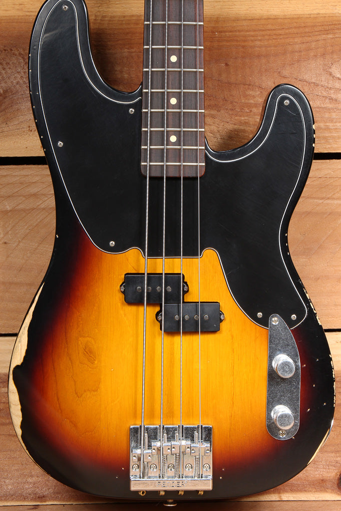 FENDER 2015 MIKE DIRNT PRECISION BASS ROAD WORN Sunburst P Faded Relic 98468