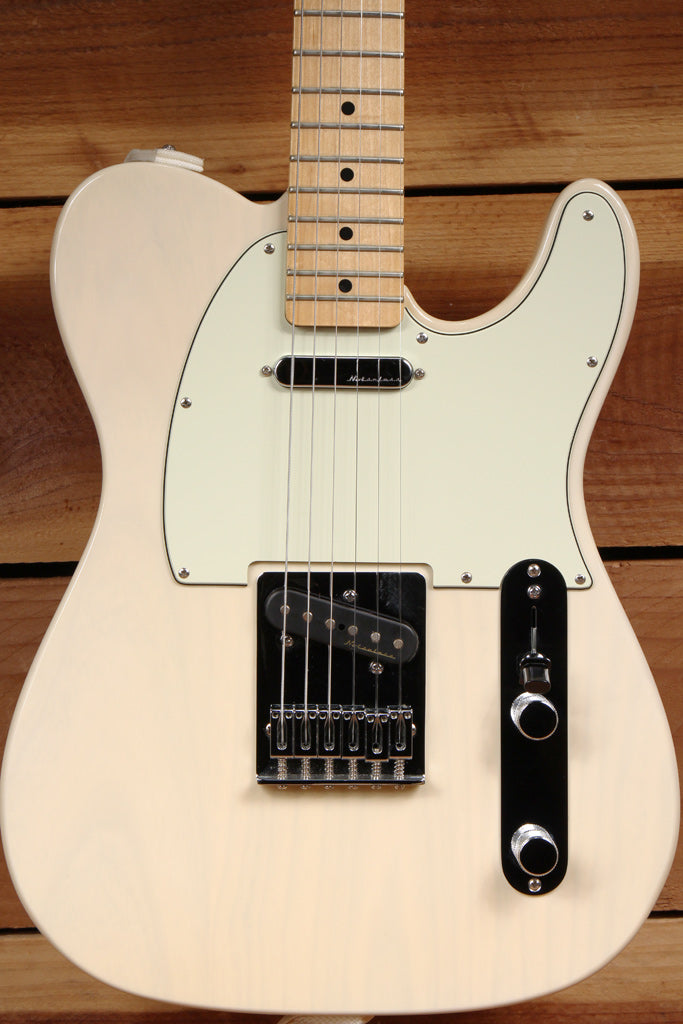 FENDER 2011 TELECASTER FSR SEE-THRU WHITE BLONDE ASH BODY Noiseless Pickups 8849