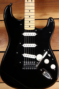 FENDER DAVID GILMOUR Black Strat Tricked Out MIM Stratocaster Very Nice! 16701