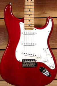FENDER HIGHWAY ONE 1 Stratocaster SSS USA Nitro American RED STRAT RELIC 16502
