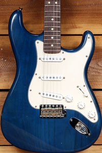 FENDER HIGHWAY ONE 1 Stratocaster SSS USA Nitro American BLUE STRAT RELIC 20213
