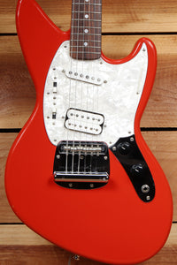 FENDER JAG-STANG Early 1996 Kurt Cobain 50th Ani JagStang Fiesta Red Japan 23787