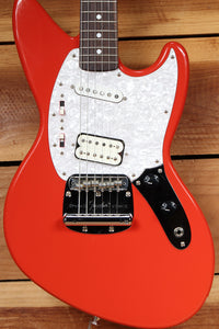 FENDER JAG-STANG Cobain NICE! JagStang Fiesta Red Crafted in Japan 31515