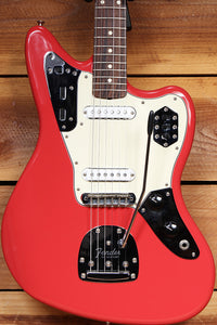 FENDER 2015 Classic Series 60s JAGUAR Lacquer FIESTA RED Nitro Wow Clean 9/10! 72763