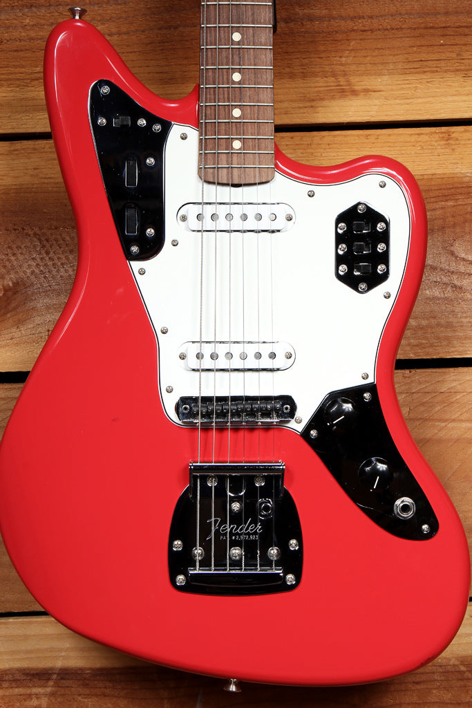 FENDER 2017 JAGUAR FIESTA RED Classic 60s Lacquer w/ Upgrades! 88177