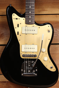 FENDER CLASSIC PLAYER JAZZMASTER Offset BLACK/GOLD NICE! 58 62 Re-issue 25533