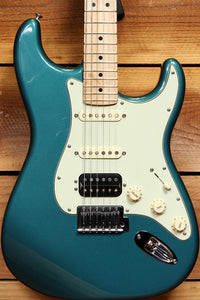 FENDER LONE STAR STRATOCASTER Sherwood Green +Locking Tuners & Bag Strat 08655