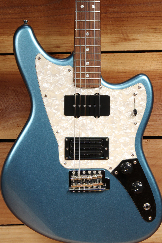 FENDER MARAUDER Offset Guitar Pawn Shop Blue Triplebucker Clean Free Ship! 3159