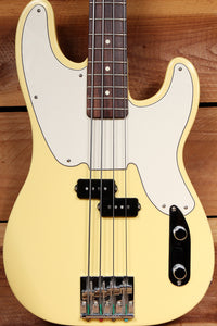 FENDER 2005 MIKE DIRNT PRECISION BASS Vintage White P-BASS BadAss +HSC 31666
