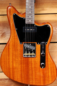 FENDER 2018 OFFSET TELECASTER Made in Japan MIJ Mahogany Very Clean! +Bag 06264
