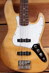 FENDER Vintage 1998 JAZZ BASS Road Worn Faded RELIC NATURAL SATIN MIM 0423