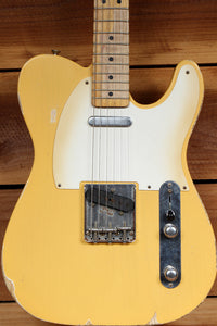 FENDER 2012 ROAD WORN 50s TELECASTER RARE TV Yellow Best Tele Relic Around 19921