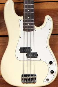 Fender 1984-87 MIJ Precision P-Bass 32 inch Medium Scale 80s Japan White 66264