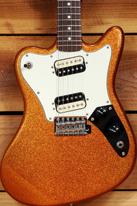 FENDER PAWN SHOP SUPER-SONIC MINT! 2013 Orange Flake Offset Guitar HH 08567