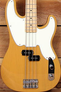 Fender Standard Telecaster Precision Bass Butterscotch Ltd Edition 2018 MIM Tele Clean! 11339