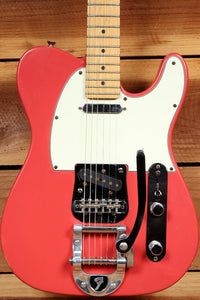 FENDER USA TELECASTER Factory BIGSBY Tremolo! Salmon Pink American Relic 24753