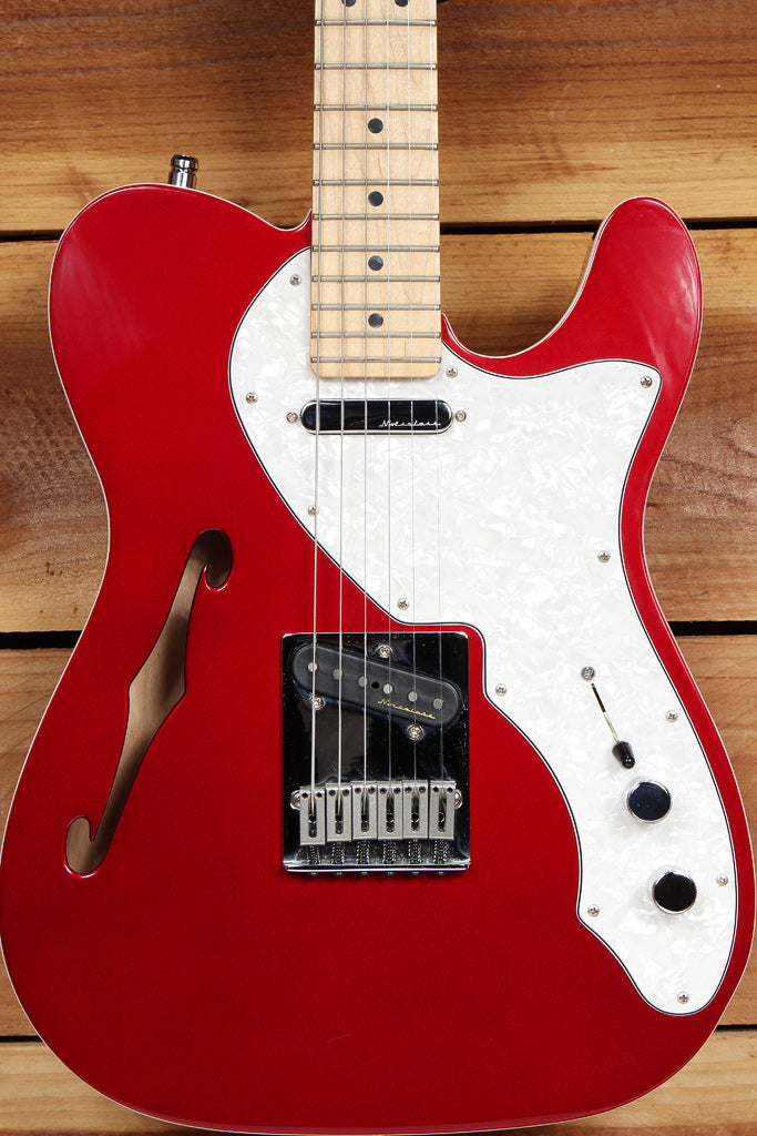 FENDER TELECASTER THINLINE DELUXE + Bag & Papers Locking Tuners 69 Tele 48380